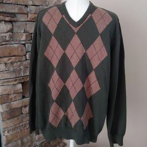 New Size Large men's v neck sweater